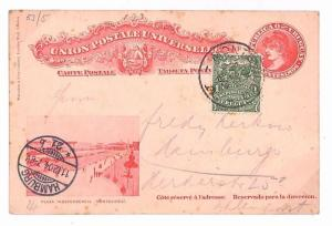 S292 1904 Uruguay *MONTEVIDEO* Cover Postal History {samwells-covers}PTS