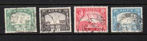 ADEN SC# 1, 2, 3, 5 - USED - SALE TO A USA ADDRESS ONLY