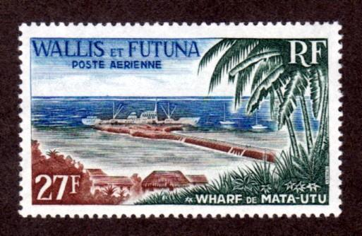 Wallis & Futuna Islands C21 Mint NH!