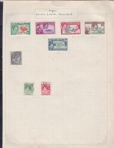 papua pitcairn islands queensland stamps page ref 17399