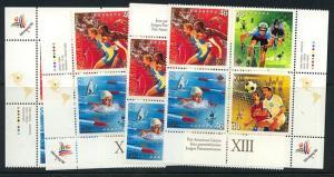 Canada - 1999 Pan American Games Blocks VF-NH #1804a