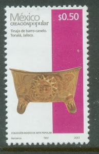 MEXICO 2488g, 50c HANDCRAFTS 2013 ISSUE. MINT, NH. F-VF.