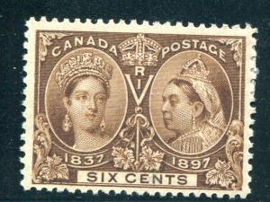 Canada #55 Mint F-VF