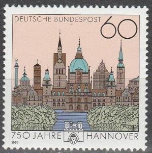Germany #1621  MNH   (K1637)
