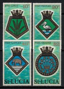 St. Lucia #405-8*  CV $4.35