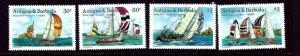 Antigua 1112-15 MNH 1988 Yachts    (ap3421)