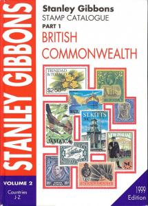Stanley Gibbons Stamp Catalogue, Part 1, Vol.  2, British...