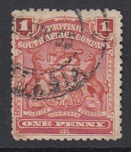 RHODESIA, Scott 60, used