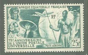 French Equatorial Africa C34  Mint VF NH