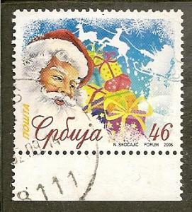 Serbia   Scott 363    New Year       Used