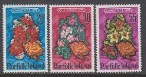 Norfolk Island 237-239 Christmas MNH VF