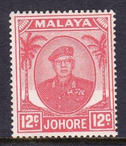 Malaya (Johore) - Scott #139 - MH - SCV $8.00