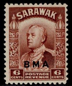 SARAWAK GVI SG131, 6c lake-brown, M MINT. Cat £19.