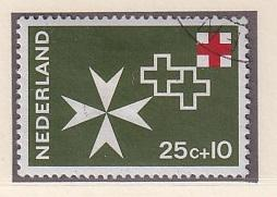 Netherlands   #B427  1967 used  red cross  25c