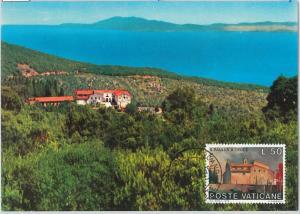 59141  -  VATICANO - POSTAL HISTORY: MAXIMUM CARD 1976  - ARCHITECTURE