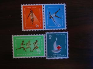 Papua and New Guinea #171-74 Mint Hinged- (JB4) WDWPhilatelic