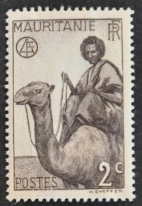 DYNAMITE Stamps: Mauritania Scott #76 – MINT hr