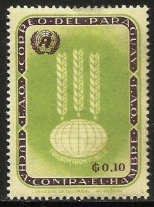 Paraguay 1963 Scott# 760 MH (thin)