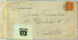 BK0461 - CHINA -  POSTAL HISTORY - COVER from ITALIAN TROOPS 1938 San Marco