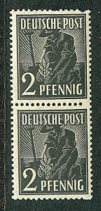 Germany AM Post Scott # 557, pair, mint nh, variation