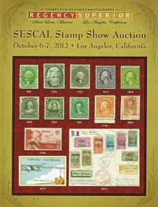 2012 Regency Superior SESCAL StampShow Auction #95 Catalog