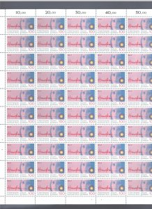 GERMANY 1990 #1600 GERMAN ASSOCT. HOUSEWIVES FULL SHEET MNH