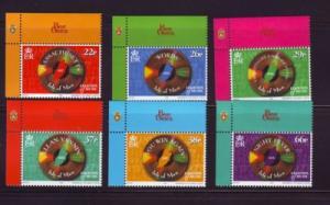 Isle of Man Sc 842-7 1999 Bee Gees stamp set  NH