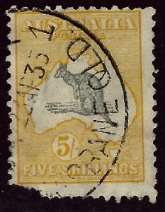 Australia SC#44 Used Fine corner fault SCV$425.00...Iconic Australia Stamp!!!