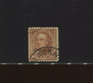 Guam Scott 9 Type 2 Used Stamp with APS Cert ****WORLD CLASS RARE USED STAMP****