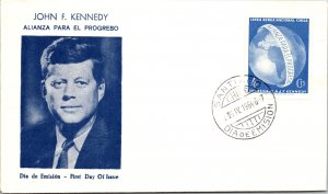 Chile, Worldwide First Day Cover, Americana