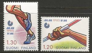 FINLAND 682-83 MOG SPORTS R5-130