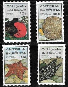 Antigua & Barbuda  (1985)  - Scott # 871  - 874,   MNH