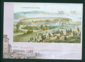 Aland. Finland. FDC 2004. Bomarsund 150 Year.