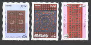 Algeria. 2012. 1681-83. Folk art artisans. MNH.
