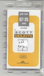 SCOTT MOUNT 976B, 67 MM X 25 MM, NEW/UNOPENED, RETAIL $6.25