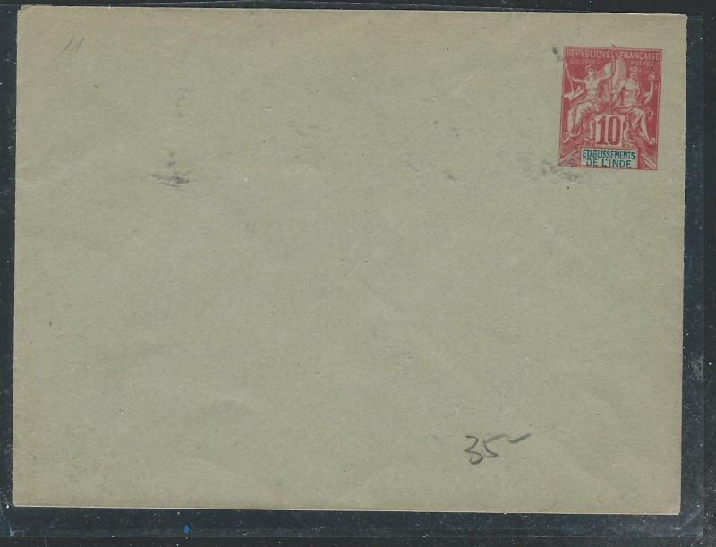 FRENCH INDIA (PP0110B) 10C EARLY PSE UNUSED
