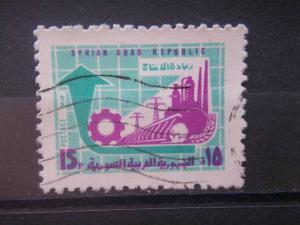 SYRIA, 1970, used 15p  Scott 556, Development