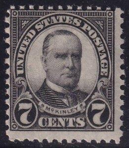 US STAMP #639 – 1926-28 7c MNH/OG