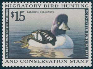 US Scott #RW65 Mint, VF, NH