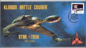 2016, Canada FDC, Star Trek, Klinon Battle Cruiser, 16-019