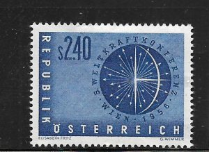 AUSTRIA,611, MINT HINGED, ENERGY OF THE EARTH