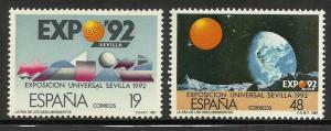 Spain 1987 Scott# 2506-2507 MNH