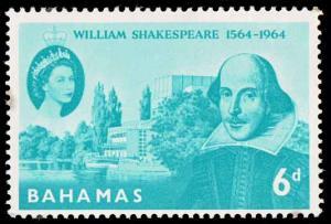Bahama SC 201 - William Shakespeare - MNH - 1964