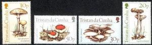 Tristan Da Cunha Sc# 352-355 MNH 1984 Local Fungi