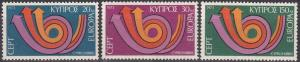 Cyprus #396-8  MNH  CV $4.25  (A19919)