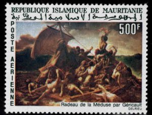 Mauritania Scott C58 Sinking of the Frigate Medusa Artl stamp