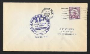 UNITED STATES Event Cover Sweepstakes Air Derby 1932 Los Angeles