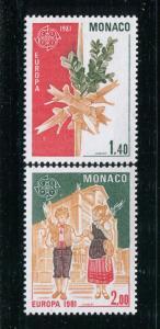 Monaco #1278-9 MNH - Make Me An Offer