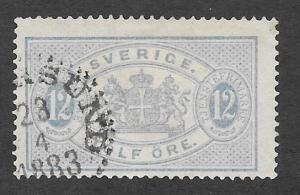 SWEDEN Scott #O18 Used Official Stamp 2013 CV $22.50