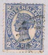 Queensland 114 Used Queen Victoria 1897 (BP51710)